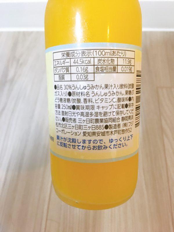 静岡県産の三ヶ日みかんサイダーを飲んでみた!他の特産品も紹介!4