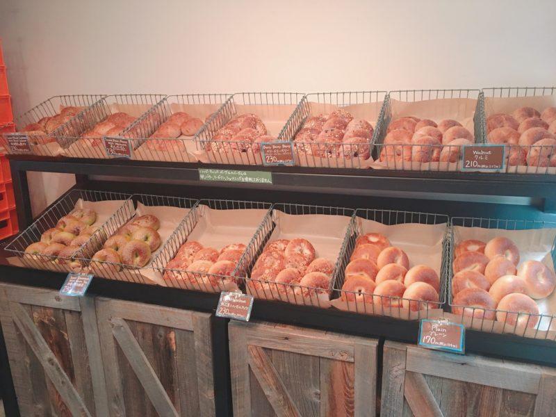 食べ応えのあるパン好きなら大阪の専門店ハッピーキャンパーベーグル2