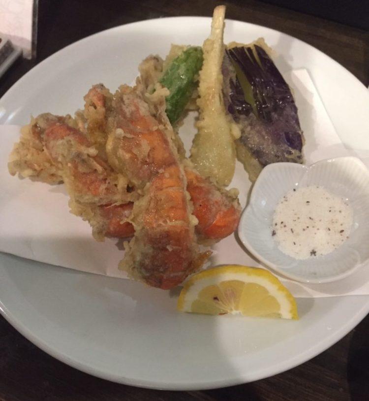 熊本の郷土料理〜シャクの天ぷらを食べた!シャコとの違いや時期は? 天ぷら2