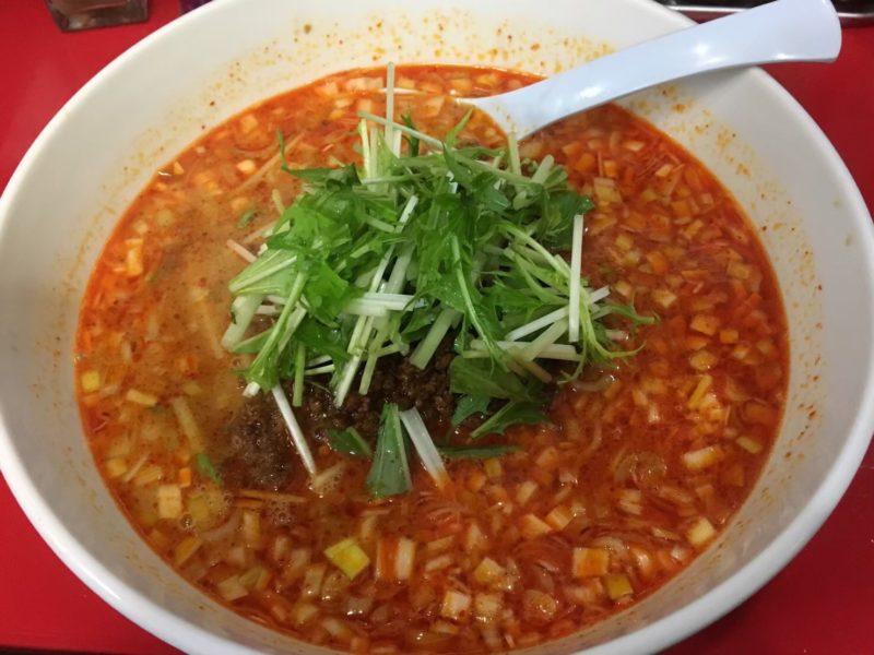 担々麺好きの僕がおすすめ!大阪京橋『ササラ』はスープのコクが絶品 金胡麻