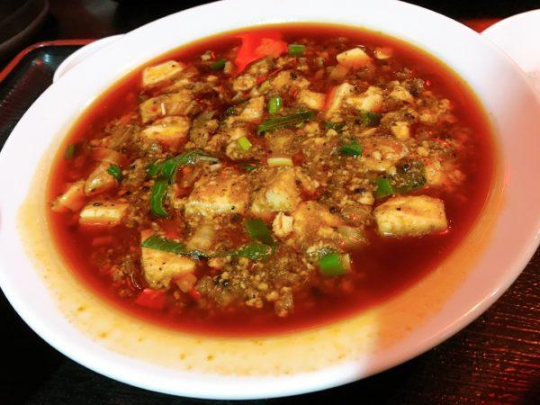 『中華料理つね川』交野市で辛~い四川麻婆豆腐を食べたい男性向け!麻婆1