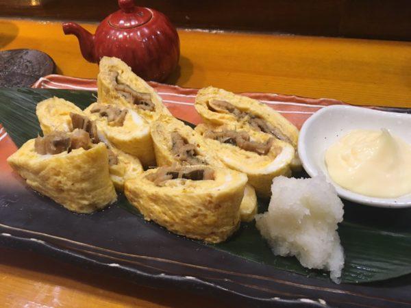 穴子しゃぶしゃぶ『凪』福岡出張で食通の上司を連れて行くならここ!穴子の卵焼き