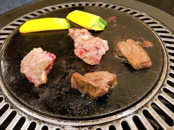 『馬肉料理りょう馬』京橋で家族と一緒に馬肉を食べたい方にオススメ 三種焼き