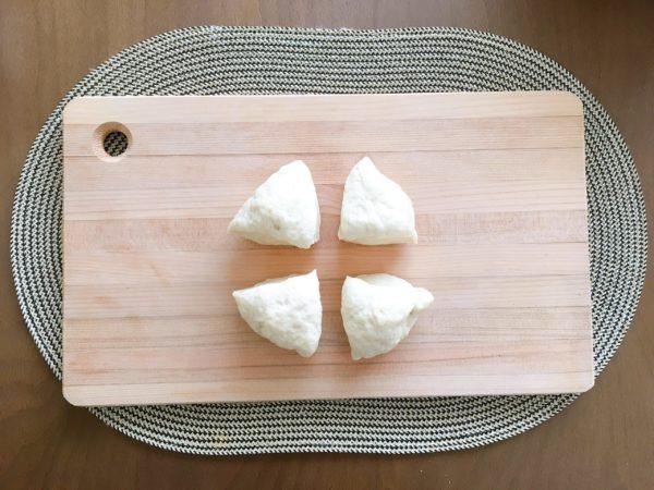 【写真で解説】料理が苦手な僕も簡単に作れる『無印のナン』の作り方 4当分